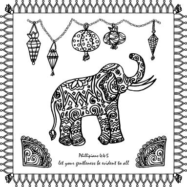 ElephantMarkerArtPHIL445Gentleness