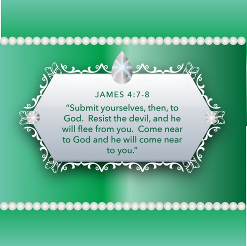 emeraldpearlsweddinginvitebluebibleartjames478resistthedevil
